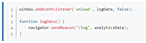 send Beacon code example_img sharp